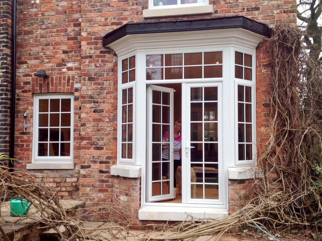 bay window into french door