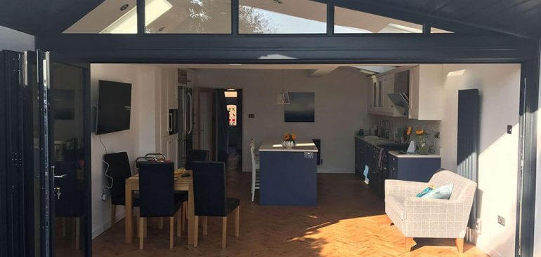 Bifold door Black