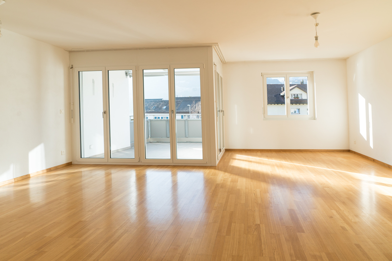 French Doors in a bright apartment